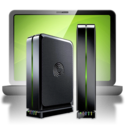 128x128px size png icon of Backup Seagate