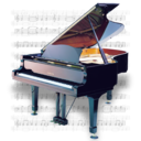 128x128px size png icon of Music Piano