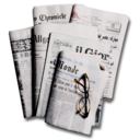 128x128px size png icon of Newspapers 2