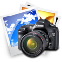 128x128px size png icon of Pictures Canon