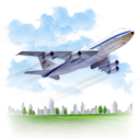 128x128px size png icon of Travel Airplane