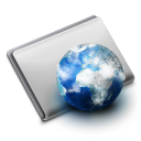 128x128px size png icon of Folder Site