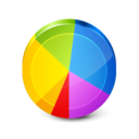 128x128px size png icon of Charts