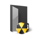 128x128px size png icon of Folder Burn