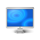 Monitor Blue Icon