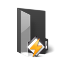 128x128px size png icon of Music Folder Winamp