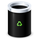 128x128px size png icon of Bin Empty