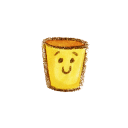 128x128px size png icon of Natsu Recycle Bin Empty2