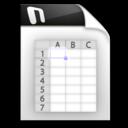 128x128px size png icon of sxc sdc slk xls