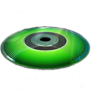 128x128px size png icon of Burning Disc