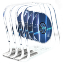 DVD in glass Icon