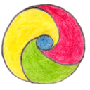 128x128px size png icon of Osd chrome