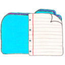 128x128px size png icon of Osd folder b documents