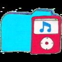 128x128px size png icon of Osd folder b ipod