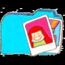 128x128px size png icon of Osd folder b photos