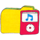 128x128px size png icon of Osd folder y ipod