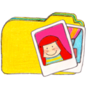128x128px size png icon of Osd folder y photos
