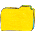 128x128px size png icon of Osd folder y