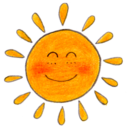 128x128px size png icon of Osd sun