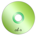 128x128px size png icon of Cd-r