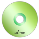 128x128px size png icon of Cd-rw