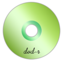 128x128px size png icon of Dvd-r