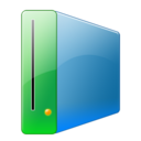 128x128px size png icon of Hdd alt