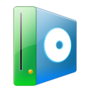 128x128px size png icon of Hdd cd