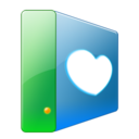 128x128px size png icon of Hdd favs