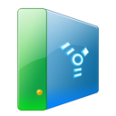 128x128px size png icon of Hdd firewire