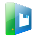 128x128px size png icon of Hdd floppy