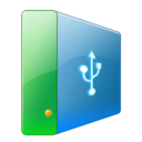128x128px size png icon of Hdd usb