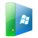 128x128px size png icon of Hdd win