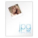 128x128px size png icon of Jpg File