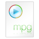 128x128px size png icon of Mpg File
