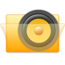 128x128px size png icon of Speaker Folder