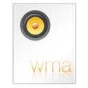 128x128px size png icon of Wma File