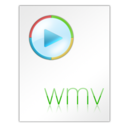 128x128px size png icon of Wmv File