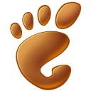 128x128px size png icon of Gnome