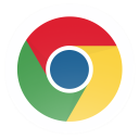 128x128px size png icon of Chrome