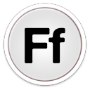 128x128px size png icon of Fontbook