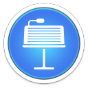 128x128px size png icon of Keynote