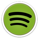 128x128px size png icon of Spotify