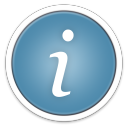128x128px size png icon of System Info