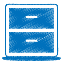 128x128px size png icon of blue archive