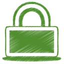 green lock Icon