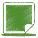 128x128px size png icon of green picture