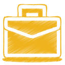 128x128px size png icon of yellow case