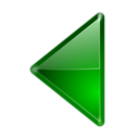 128x128px size png icon of Actions arrow left