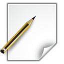 Actions document properties Icon